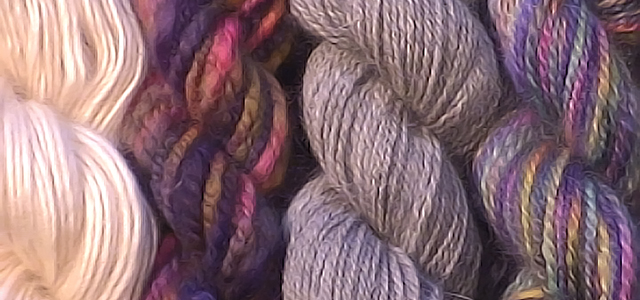 Woolen and worsted yarn