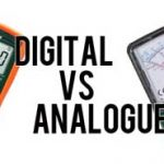 Difference between analog instruments and digital instruments