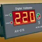 Various specification of DVM (Digital Voltmeter)