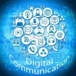 What are advantages and disadvantages of digital communication?