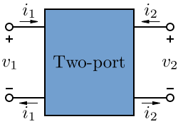Two port network