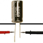 Capacitor testing with ohmmeter