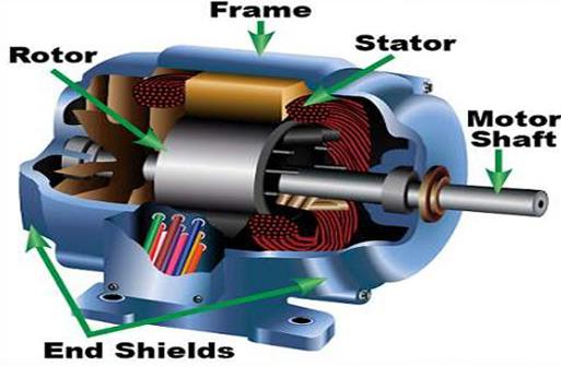 Construction of 3-phase induction motor - Polytechnic Hub