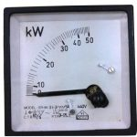 Comparison between analog wattmeter and digital wattmeter