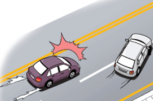 Accidents on roads