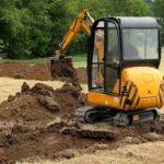 Use of excavators