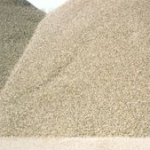 What is sand as a construction material