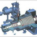 What is extraction condensing steam turbine